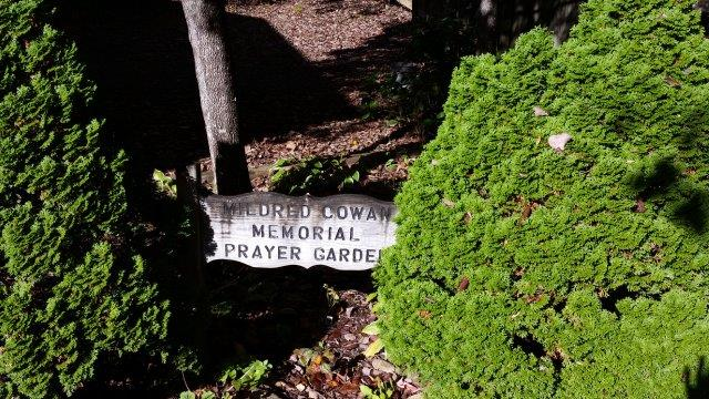 Mildred Coway Memorial Prayer Garden
