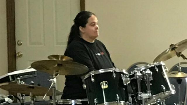 High School Music Week Drummer & Girl's Camp Director Wendy Britt
